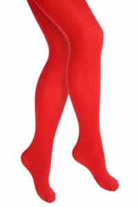 Colored children pantyhose, Red,